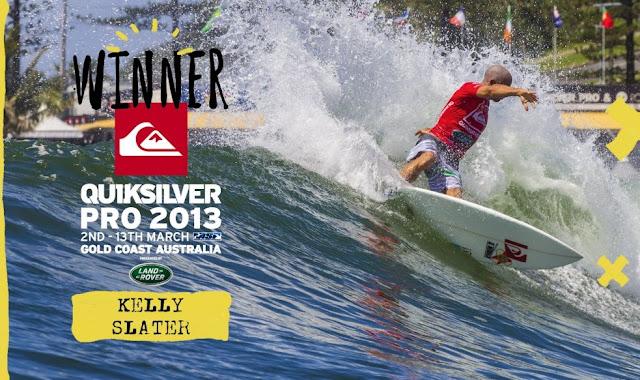 Kelly Slater gana el Quiksilver Pro Gold Coast