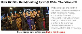 HJ's British Hairdressing Awards 2014: The Winners!