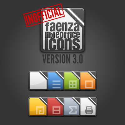 LibreOffice Faenza Icons