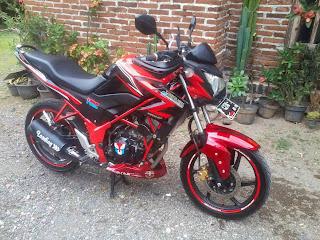 Modifikasi Honda CB 150R Jadi Motor Touring