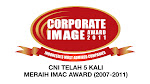 PT. CNI Raih IMAC AWARD Ke Lima Kali
