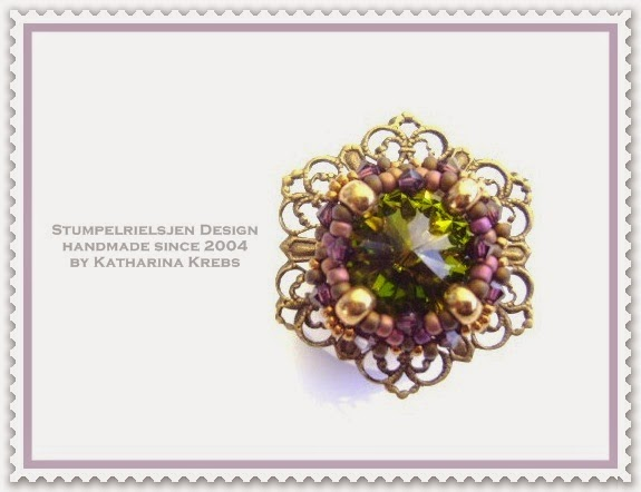 Ring Beadwork by Katharina Krebs