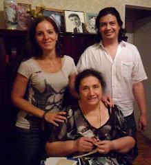 Junto a Margarita Biondi