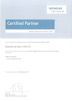 SIEMENS CERTIFIED PARTNER (DISTRIBUTOR)