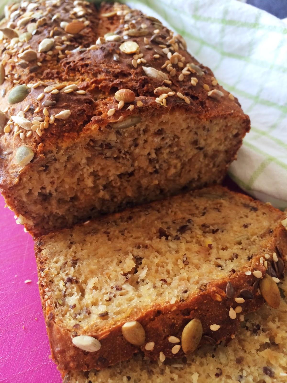Glutenfritt formbröd utan jäst