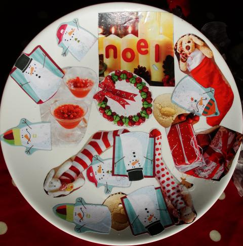 We set out to make some decorative plates using only recycled materials. These designer plates would make unique Christmas gifts for family or friends. & Sun Hats u0026 Wellie Boots: Design Your Own Ceramic Plates (using ...