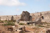 Inside Castel Tornese Greece