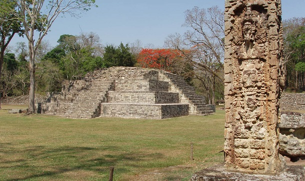 Copan: Ruínas maias nas Honduras