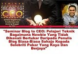 Rahsia Blogger Berjaya