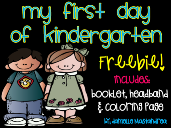 http://www.teacherspayteachers.com/Product/My-First-Day-of-Kindergarten-FREEBIE-825483