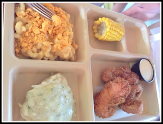 The Porch restaurant, tv dinner, fried chicken, chicken fingers