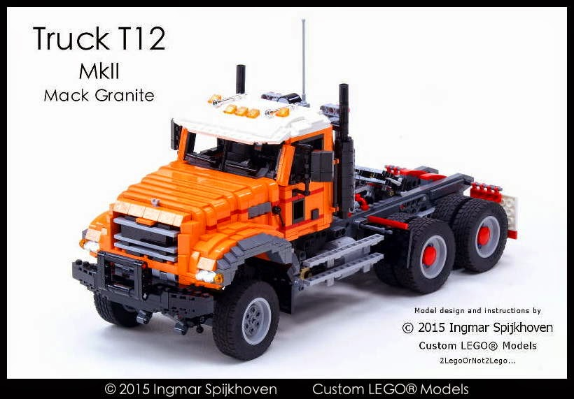 Ingmar Spijkhoven Truck T12 Mkii Mack Granite With Instructions