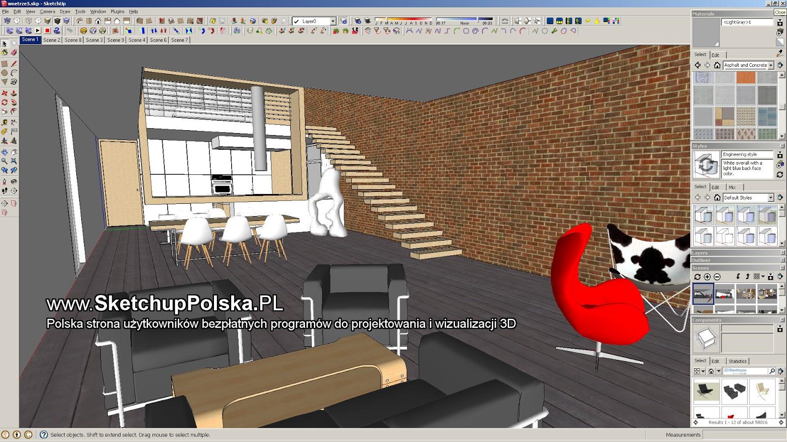 Моделирование в SketchUp. Интерфейс, создание простой детали