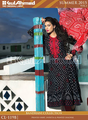 Pakistani, Styles, Fashion Clothes, Gul Ahmed 2015.