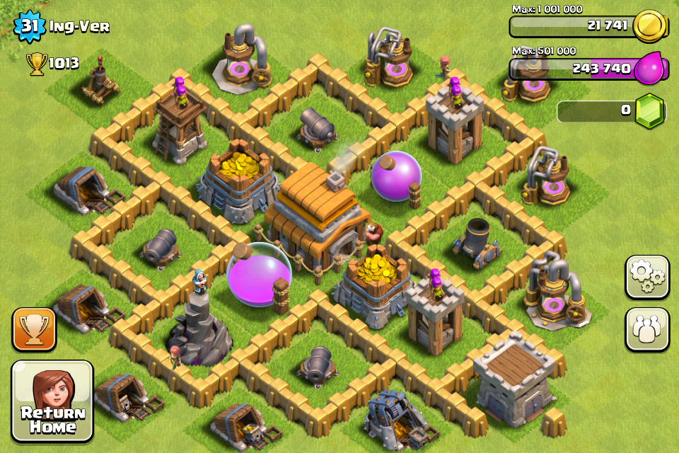 Best Town Hall 5 Base