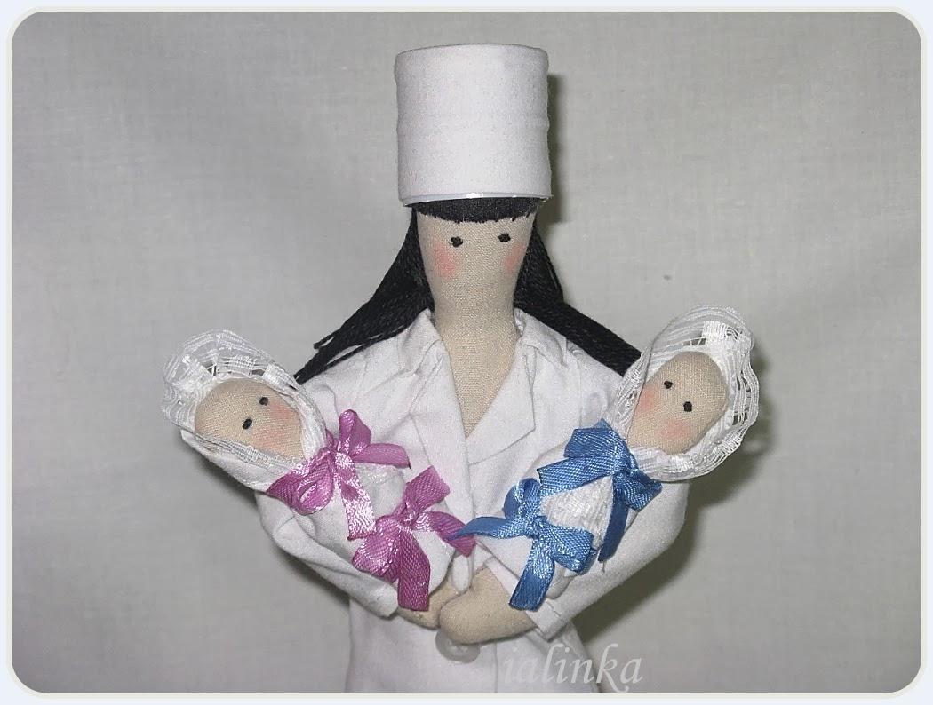 кукла  тильда  врач  своими  руками