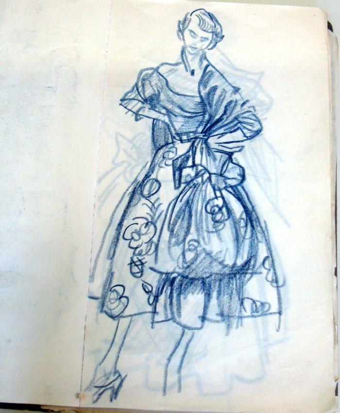 fashion fashion design sketches a london
