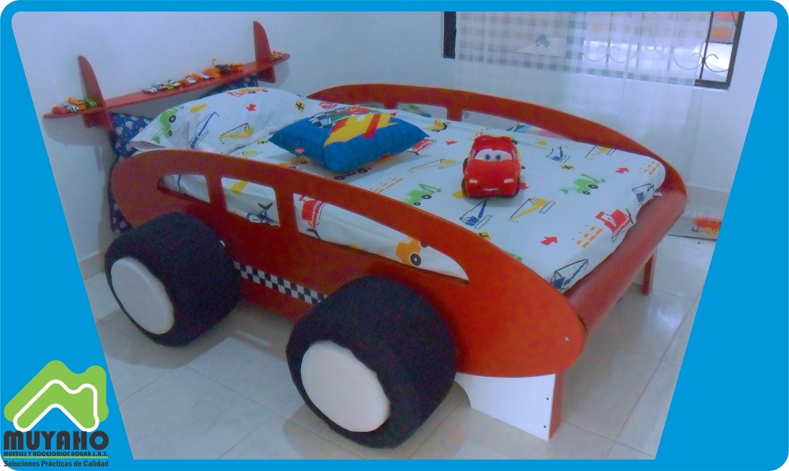 Muebles y accesorios hogar s a s - Cama infantil cars ...
