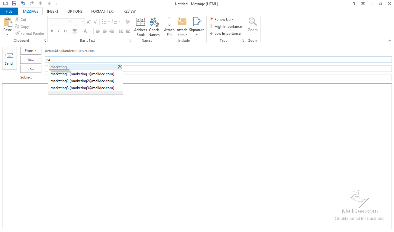 how to create a group email contact in outlook 2010