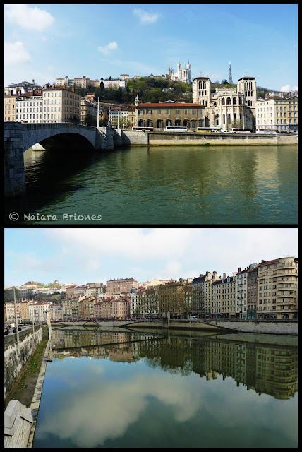 Río Saona en Lyon