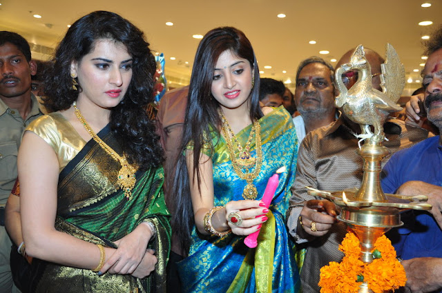 - Archana & Poonam Kaur At CMR Shopping Mall Launch photos