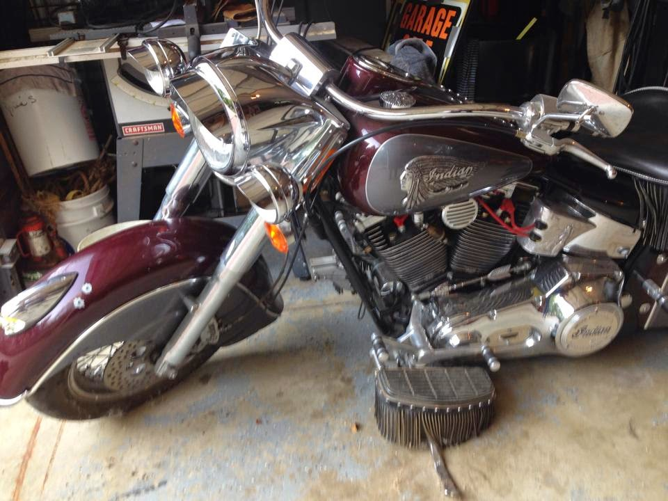 Custom Indian Motorcycle Parts