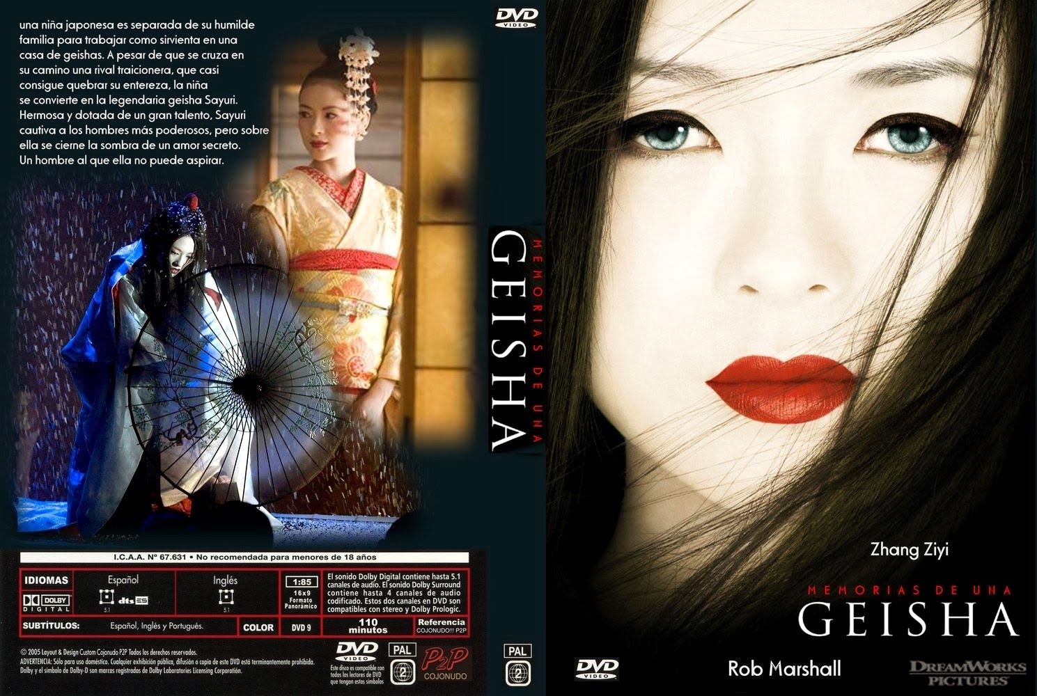 Memorias de un audio geisha