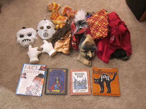 halloween decoration donation