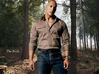 The Rock Wallpaper WWE