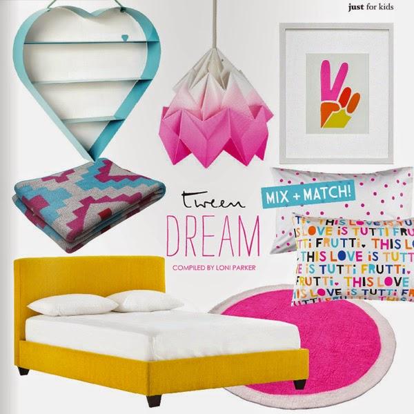 cómo decorar dormitorio niña rosa y blanco