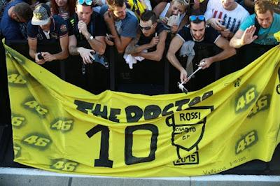 Kuasai Latihan Hari Pembuka, Lorenzo Malah Dapat Teriakan Kasar Fans Rossi
