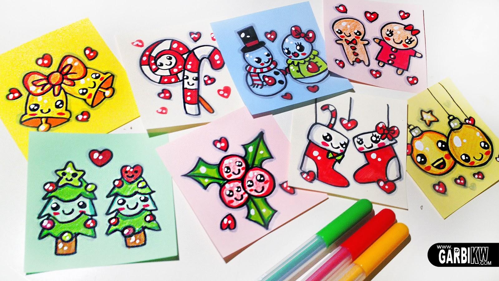 Dibujando tutoriales feliz navidad dibujos f ciles y - Dibujos de navidad faciles ...
