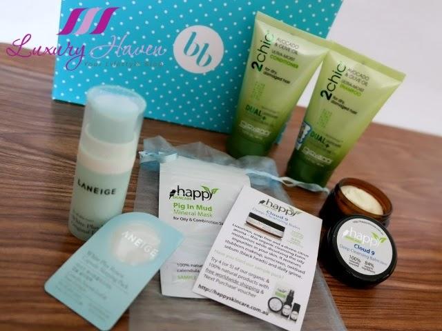 bellabox laneige giovanni shampoo review