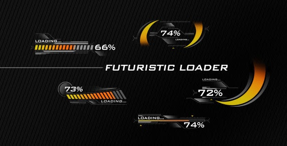 VideoHive Futuristic Loading Screen