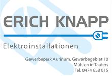 Sponsor: Elektro Knapp