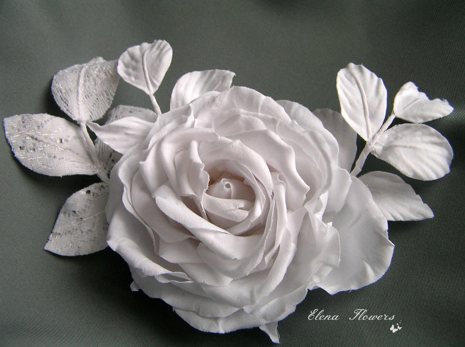Цветы из шелка цветы из ткани елена