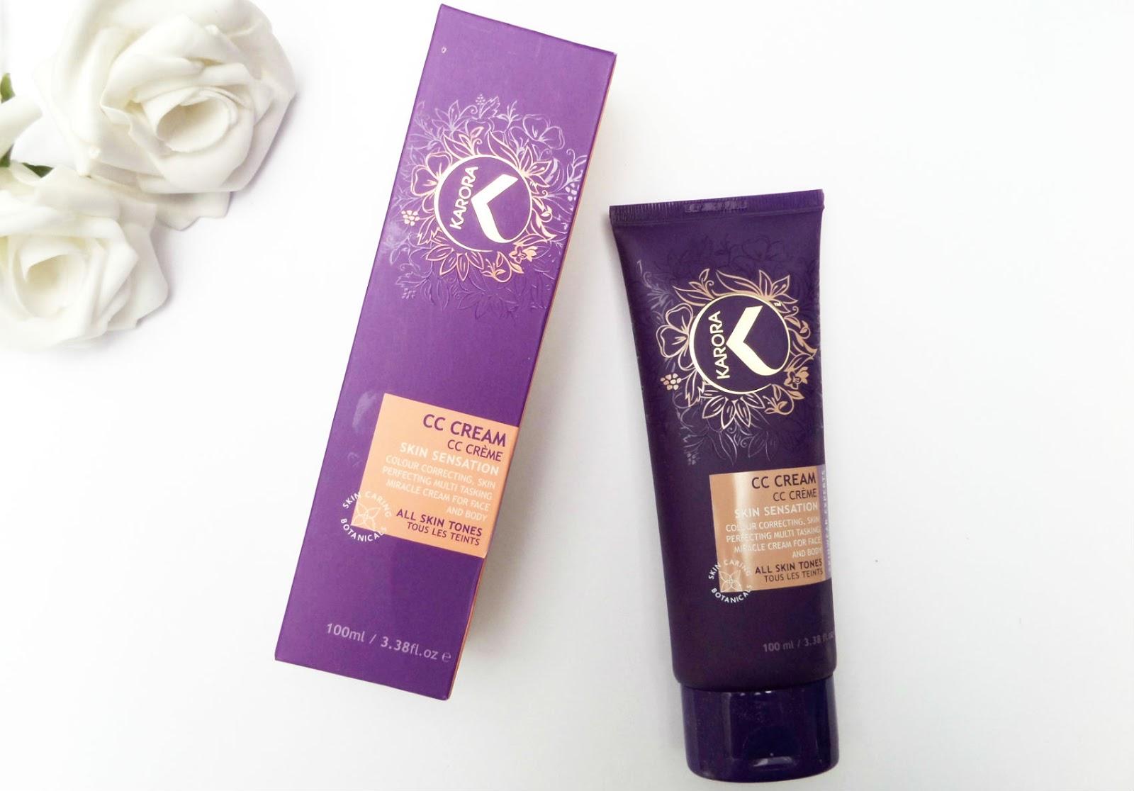 Karora Cosmetics Face And Body CC Cream Review