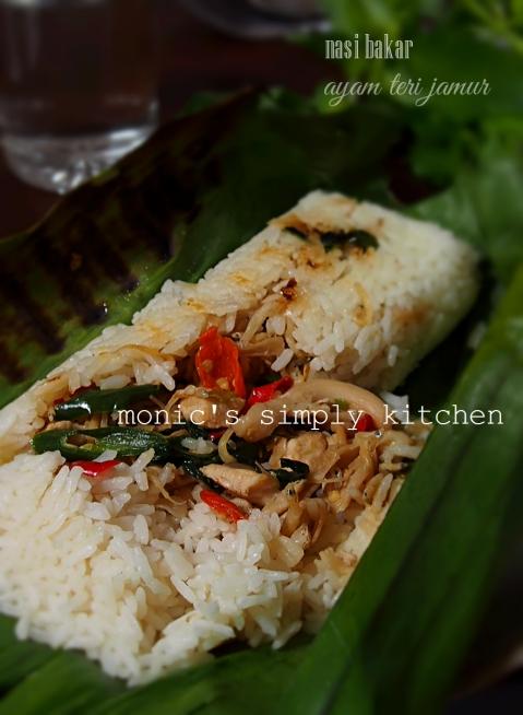 resep nasi bakar Fatmah Bahalwan NCC