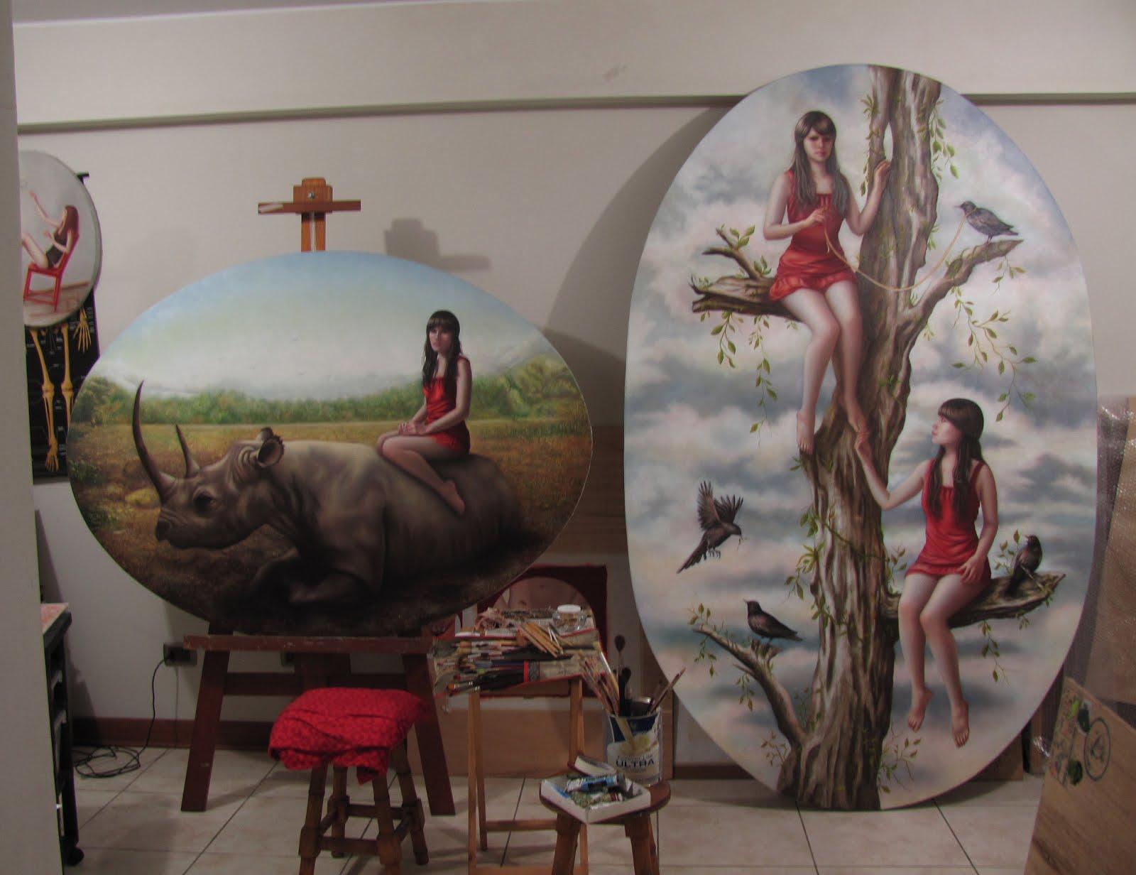Judith Vergara Garcia - Oil paintings
