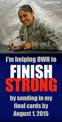 """FINISHING STRONG"" WITH OPERATION WRITE HOME"