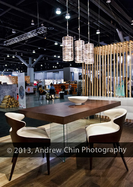 Interior Design Show West in Vancouver BC CANADA. Winning bid is
