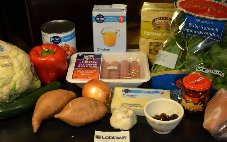 Kk test kitchen 5 meals under 50 shopping list 5 meals under 50 shopping list forumfinder Images