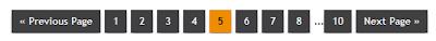 Numbered navigation widget for blogger