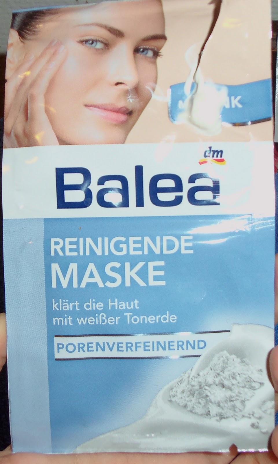 beautyelfe balea reinigende maske. Black Bedroom Furniture Sets. Home Design Ideas