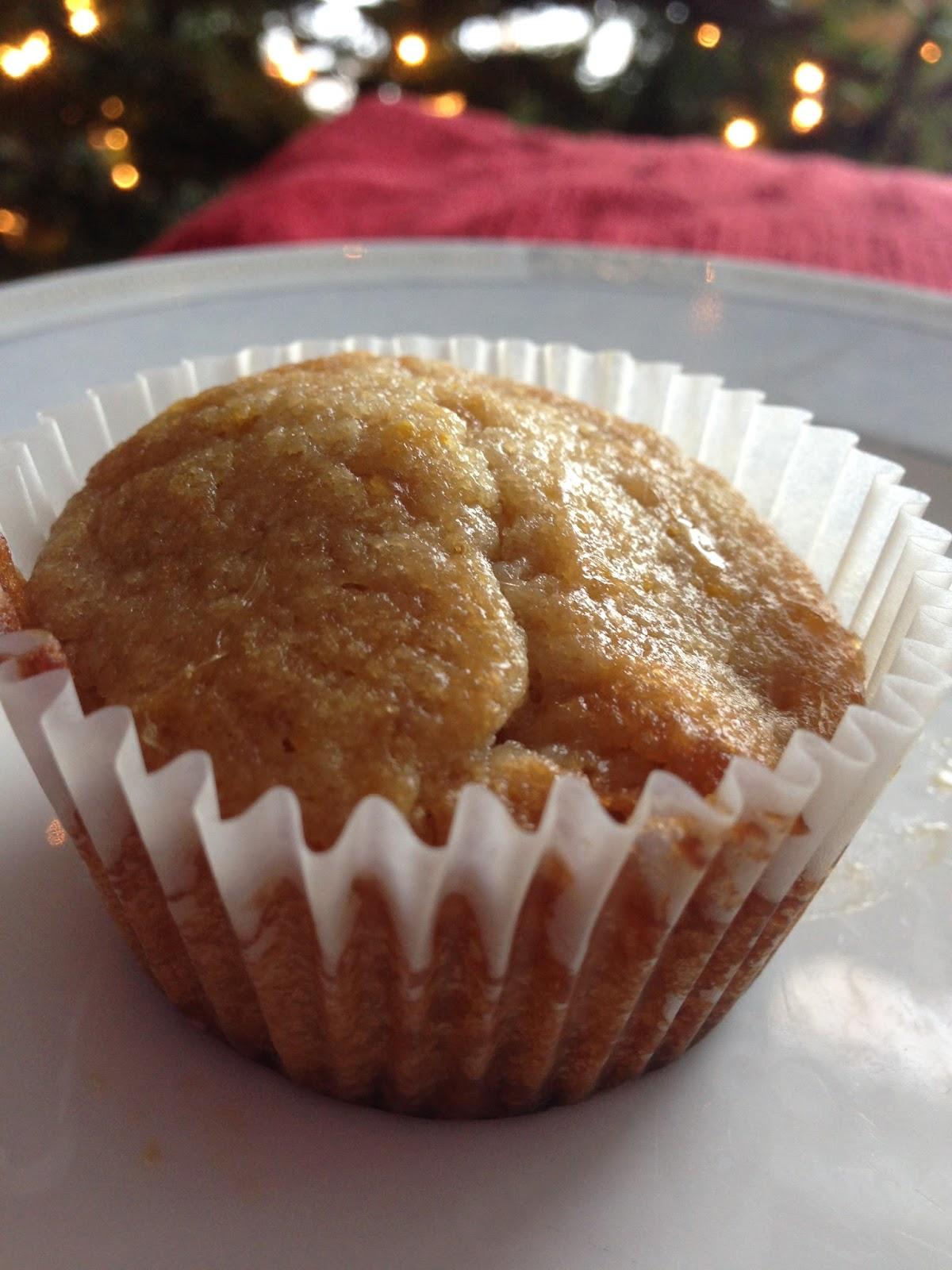 Orange Muffins with Brown Sugar Glaze = YUM!!