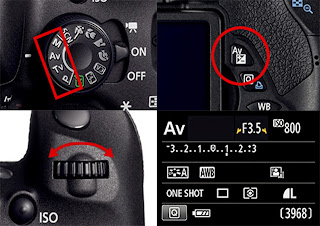 Cara setting exposure compensation