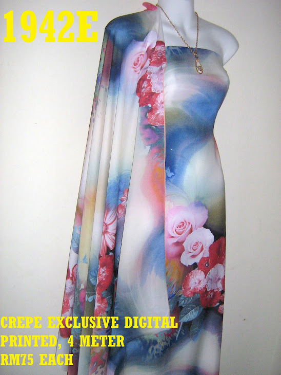 CDP 1942E: CREPE EXCLUSIVE DIGITAL PRINTED, 4 METER
