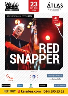 RED SNAPPER live in Kyiv