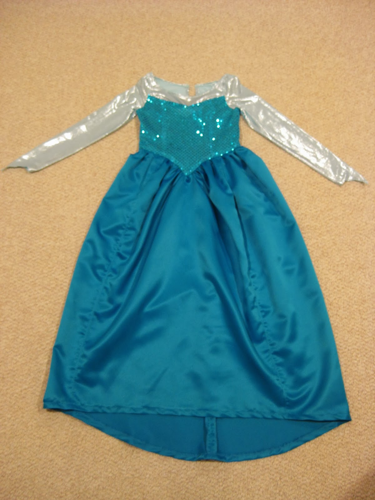 Disney Frozen Elsa Costume Pattern