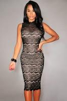 Rochie DesireGlassy Black